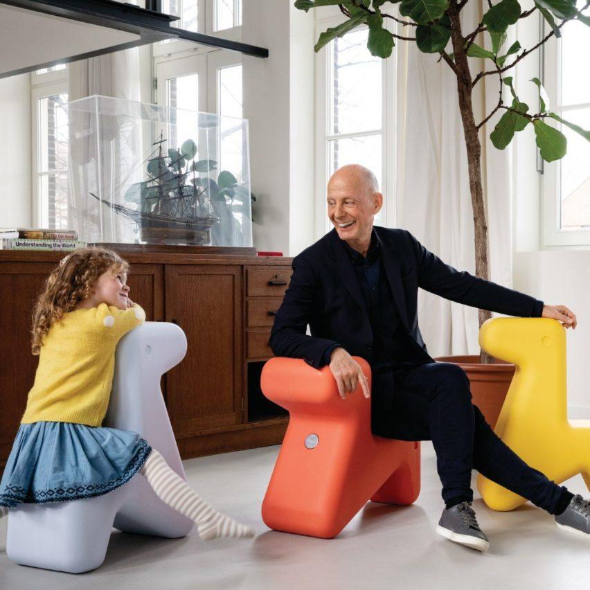 Doraff, design Ben van Berkel / UNStudio, seat, 2020