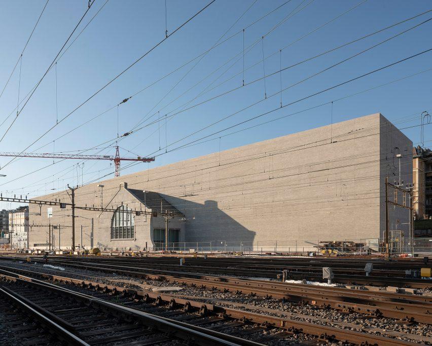 Musée cantonale des Beaux-Arts Lausanne por Barozzi Veiga