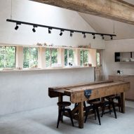 Annabelle Tugby Architects transforms old workshop into its own rustic studio