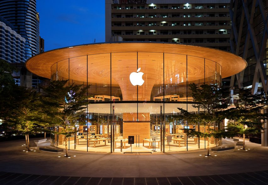 Apple Central World by Foster + Partners