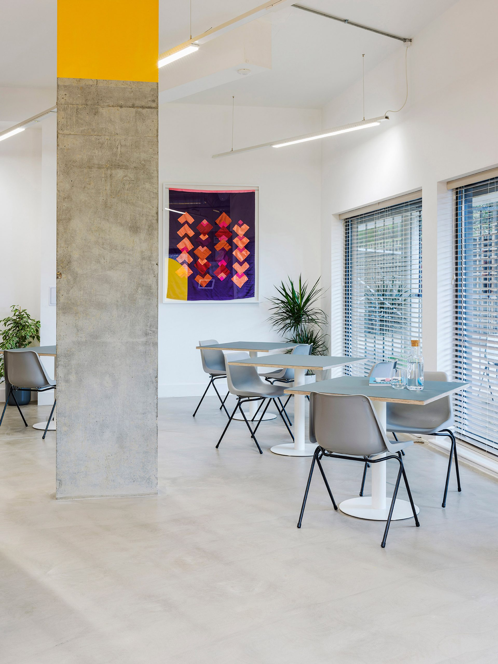 ARC Club co-working office in Homerton, London designed by Caro Lundin