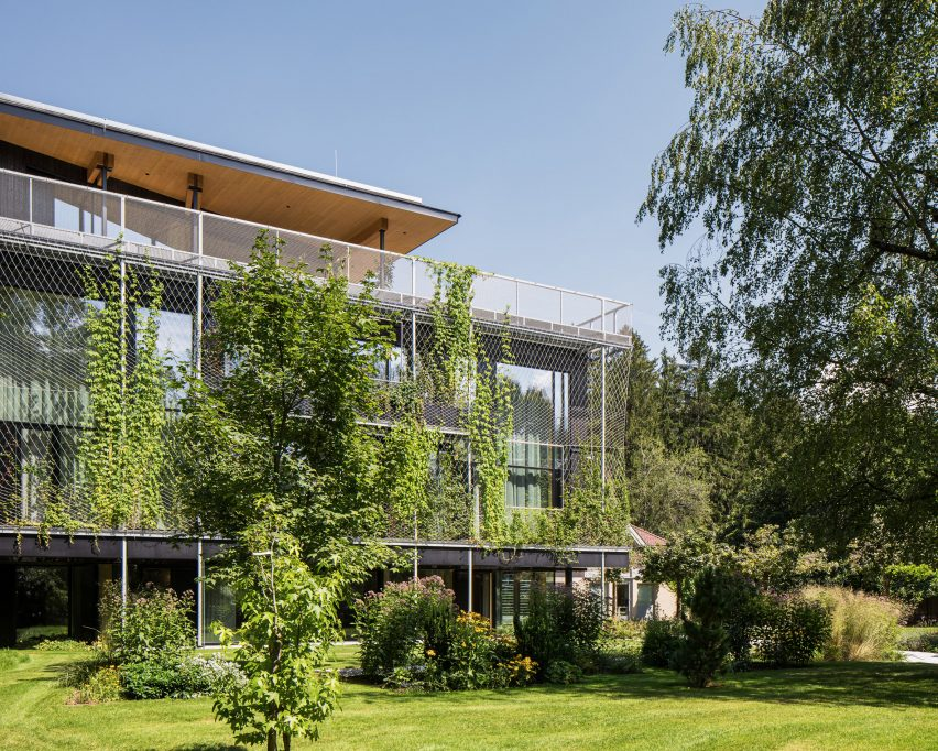 ASI Reisen Headquarters by Snøhetta in Natters, Austria