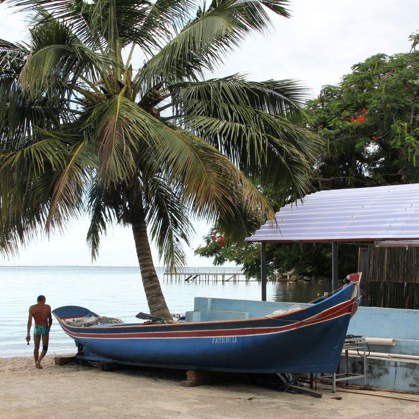 Beach Kiosk and Boat Refuge by Estudio Flume