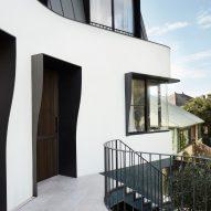 Bondi Bombora house in Sydney designed by Luigi Rosselli Architects