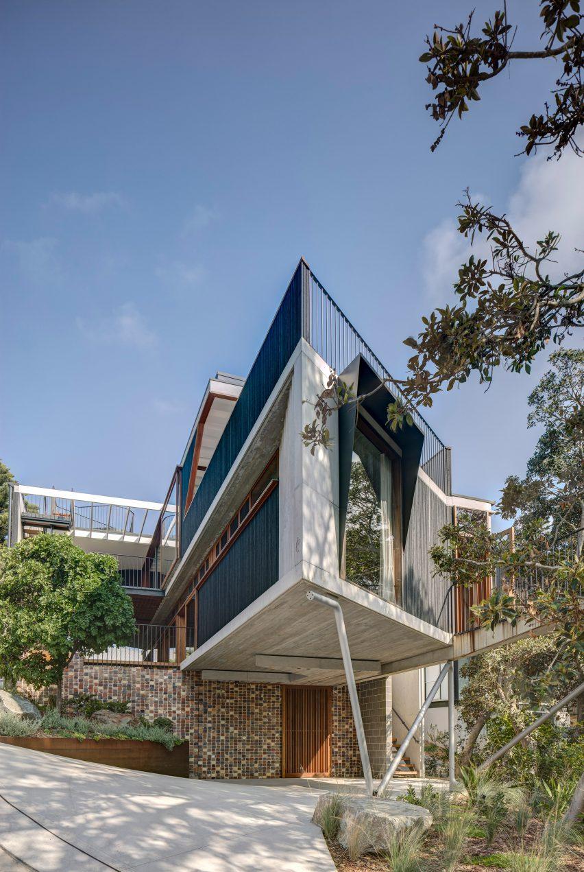 Breezeway House por David Boyle