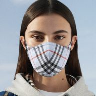 Burberry releases face mask with signature check pattern on antimicrobial fabric