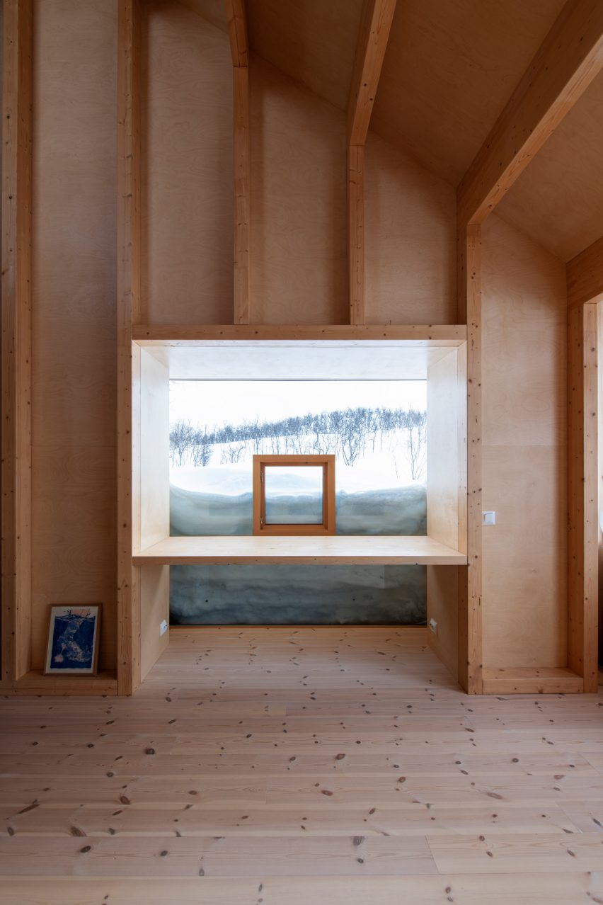Cabin Thunder Top ski by Gartnerfuglen Arkitekter in Norway