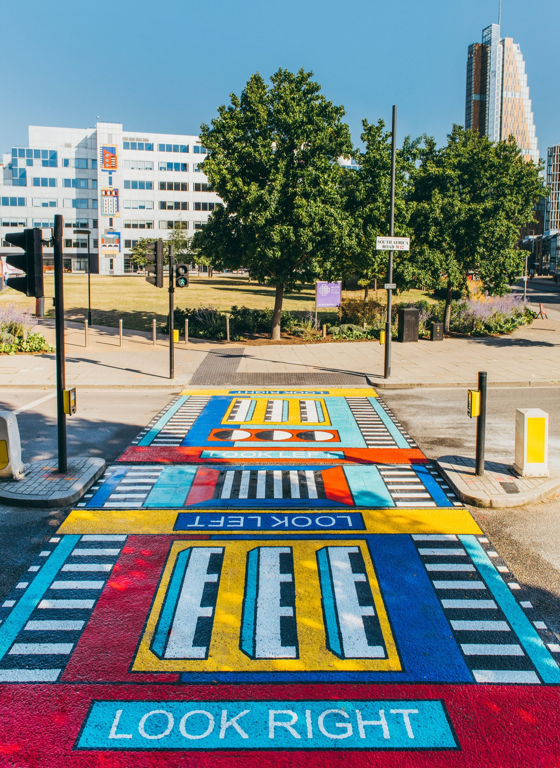 Camille Walala artwork pays homage to West London architecture