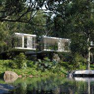 """Casa Atibaia designed to be """"ideal modernist jungle home"""""""