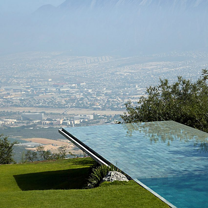 Architectural swimming pools: Casa Monterry, Mexico, by Tadao Ando
