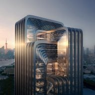 "Zaha Hadid Architects shares proposal for Shanghai's ""greenest building"""