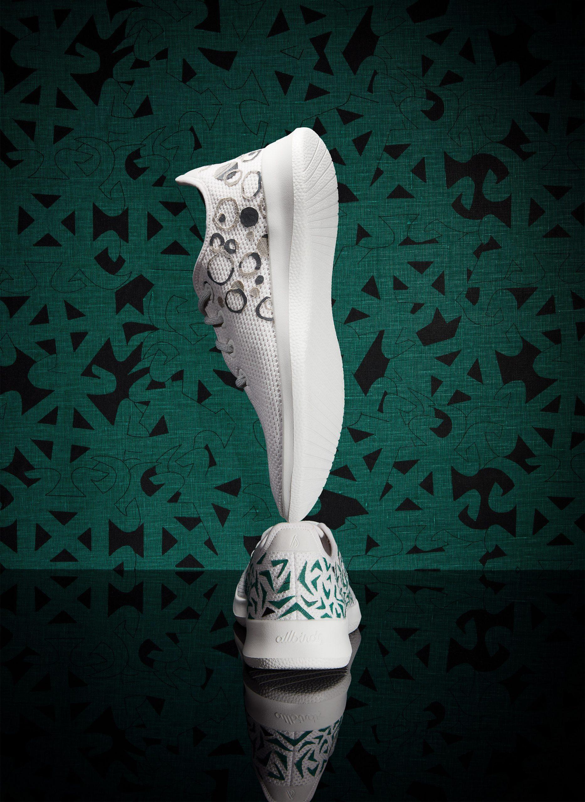 Chrissa Amuah animates Allbirds shoes with Ghanese Adinkra symbols