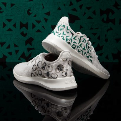 Chrissa Amuah animates Allbirds shoes with Ghanese Adinkra symbols