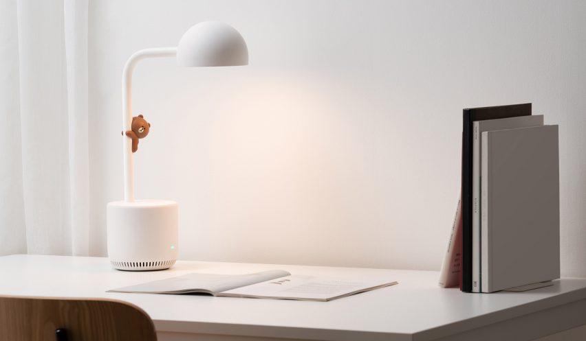 Clova Lamp is an AI-powered light that reads books to children