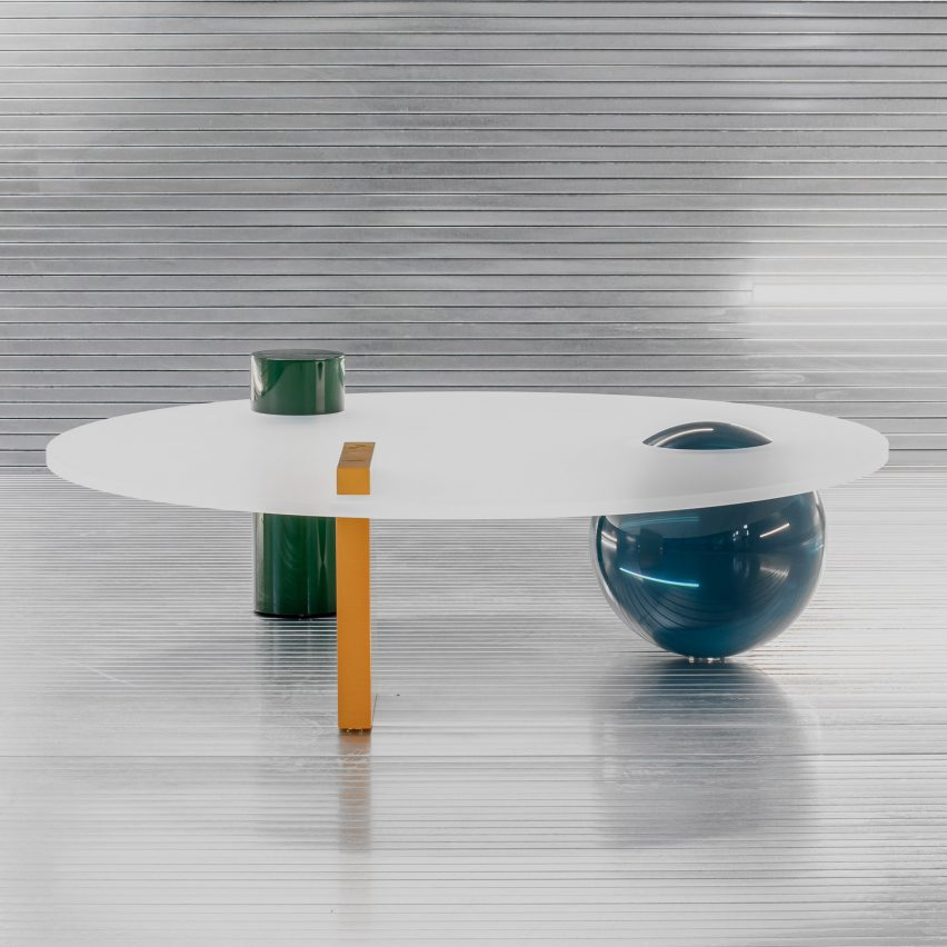 Cobra Studios launches inaugural Solids furniture series made from resin