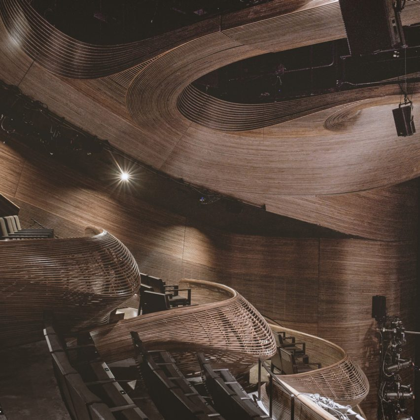 Coca-Cola Stage at the Alliance Theatre in Atlanta, US, by Trahan Architects