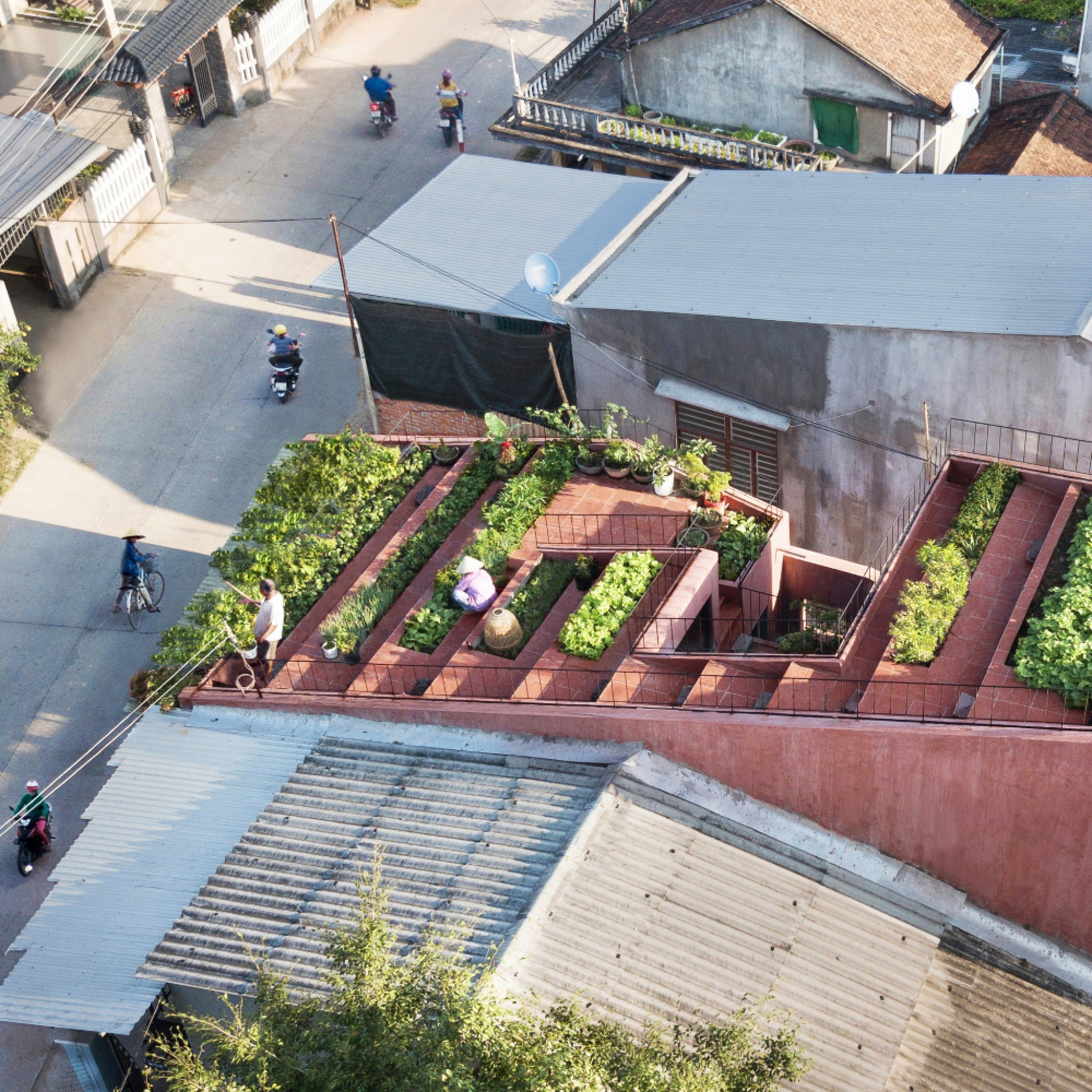 The Red Roof in Tinh Chau, Vietnam, by Taa Design
