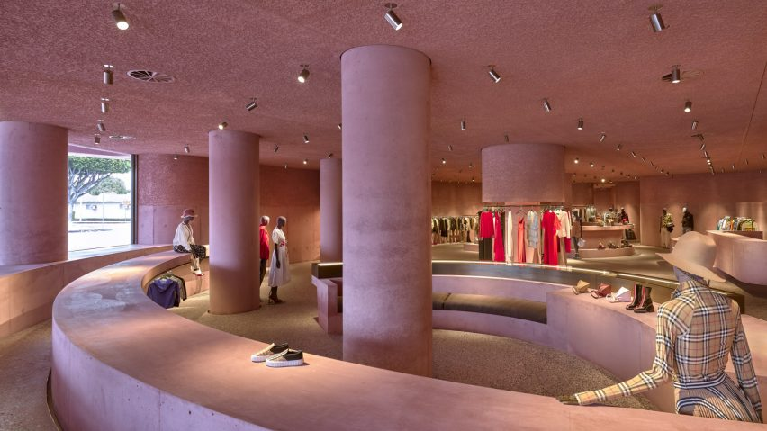 The Webster, Los Angeles, US, by Adjaye Associates is shortlisted in large retail interior. Photo by Laurian Ghinitoiu