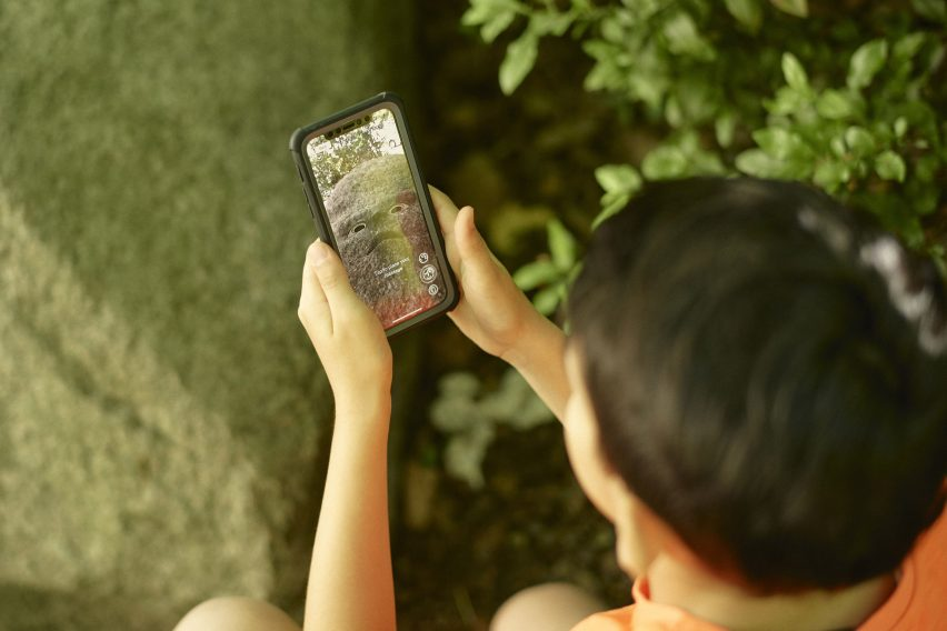Olafur Eliasson's AR Earth Speakr app lets children speak up for the planet
