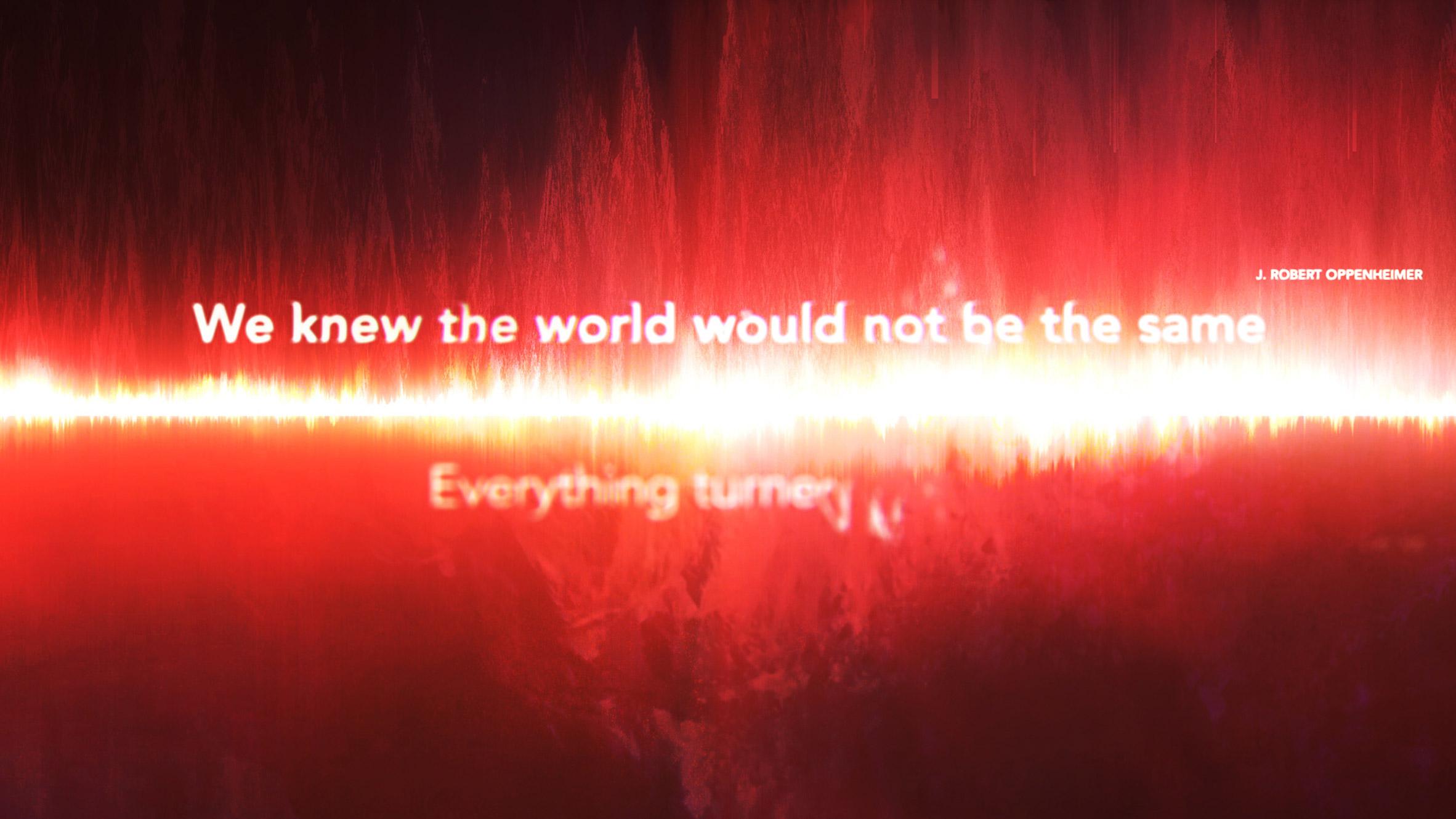 Es Devlin creates digital artwork I Saw The World End to mark 75 years since Hiroshima bomb