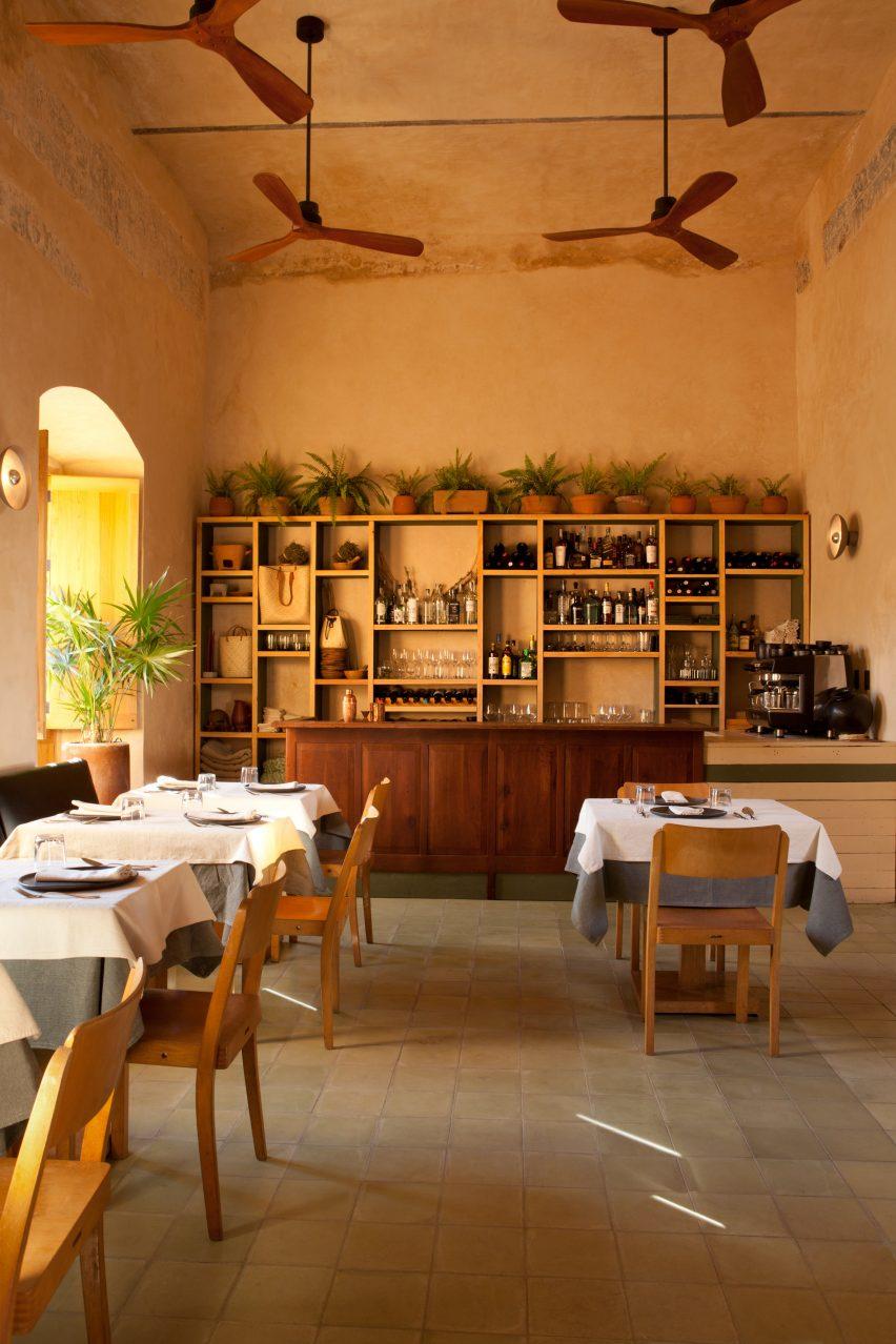 Restaurant at Escondido Oaxaca Hotel by Decada Muebles