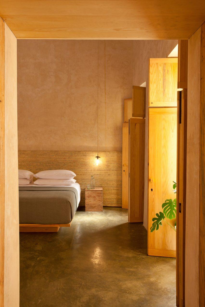 Bedroom at Escondido Oaxaca Hotel by Decada Muebles