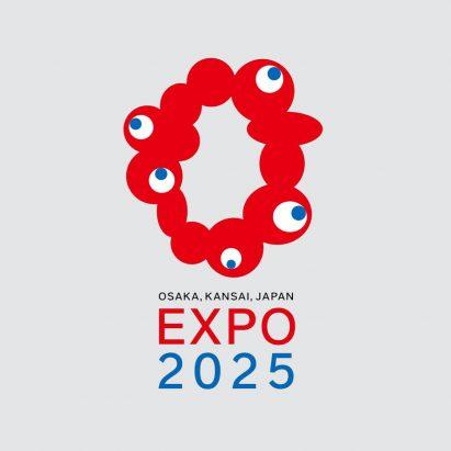Expo 2025 Osaka logo by Tamotsu Shimada