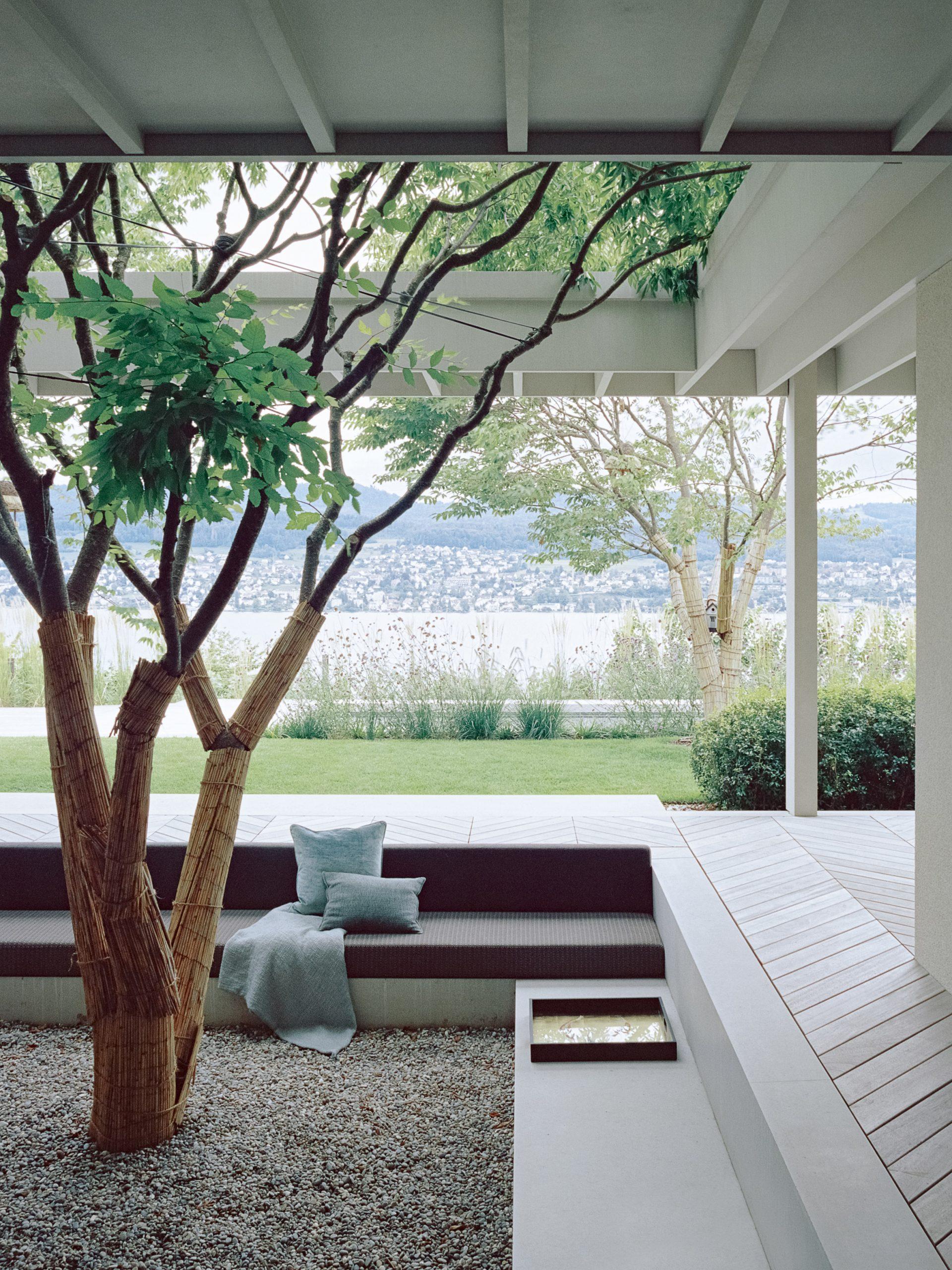 House at a Vineyard in Zurich, Switzerland designed by Think Architecture