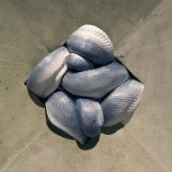 Squashed serpents feature in Polly Morgan's How To Behave At Home exhibition