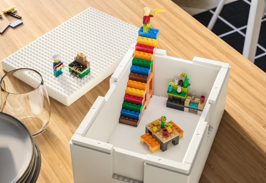 IKEA and Lego release Bygglek storage boxes that double up as building bases