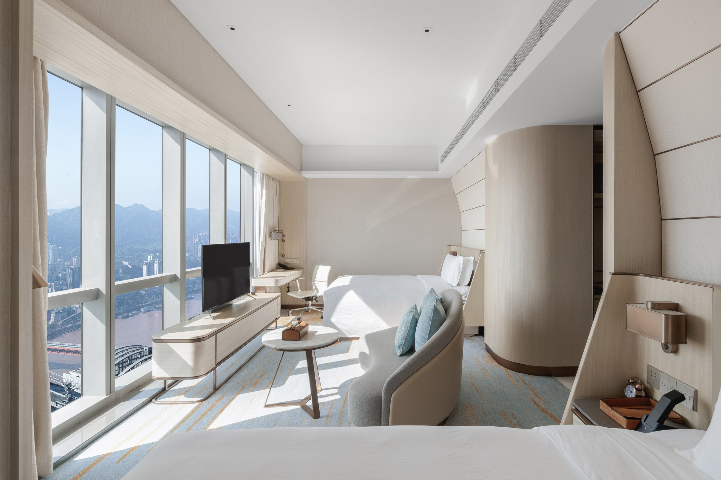 Intercontinental Chongqing Raffles City by CL3