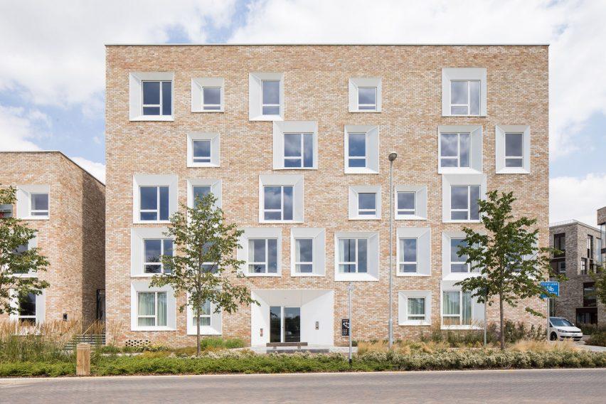 Key Worker Housing by Mecanoo for University of Cambridge, UK