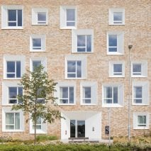 Key Worker Housing by Mecanoo for University of Cambridge, UK