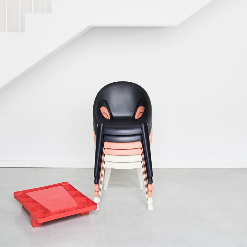 Bell Chair by Konstantin Grcic for Magis costs just ?77 and is manufactured in less than a minute