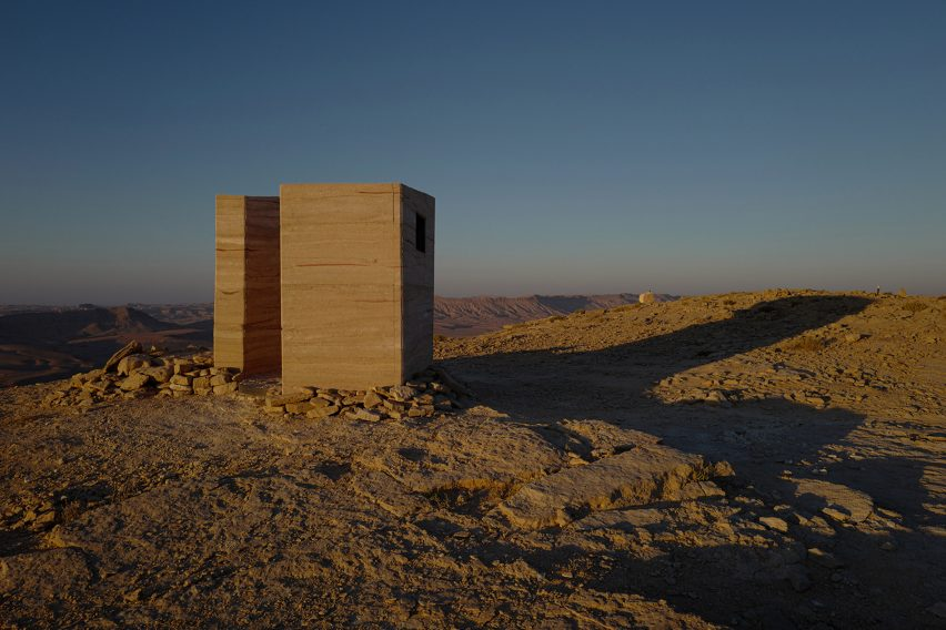 Landroom observatory by Gitai Architects