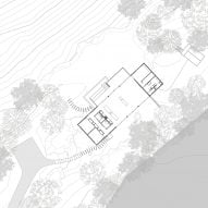 Ledge House by Desai Chia Architecture Site Plan