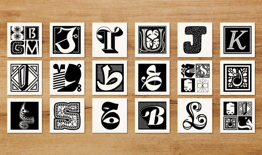Li Beirut typeface by Nadine Chahine