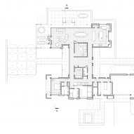 Lone Pine Residence by CLB Architects Ground Floor Plan