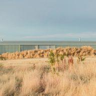 Longhouse by Partners Hill spans 110 metres across Australian bushland