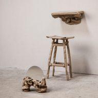 Ying Chang creates furniture out of paper for Malleable State collection