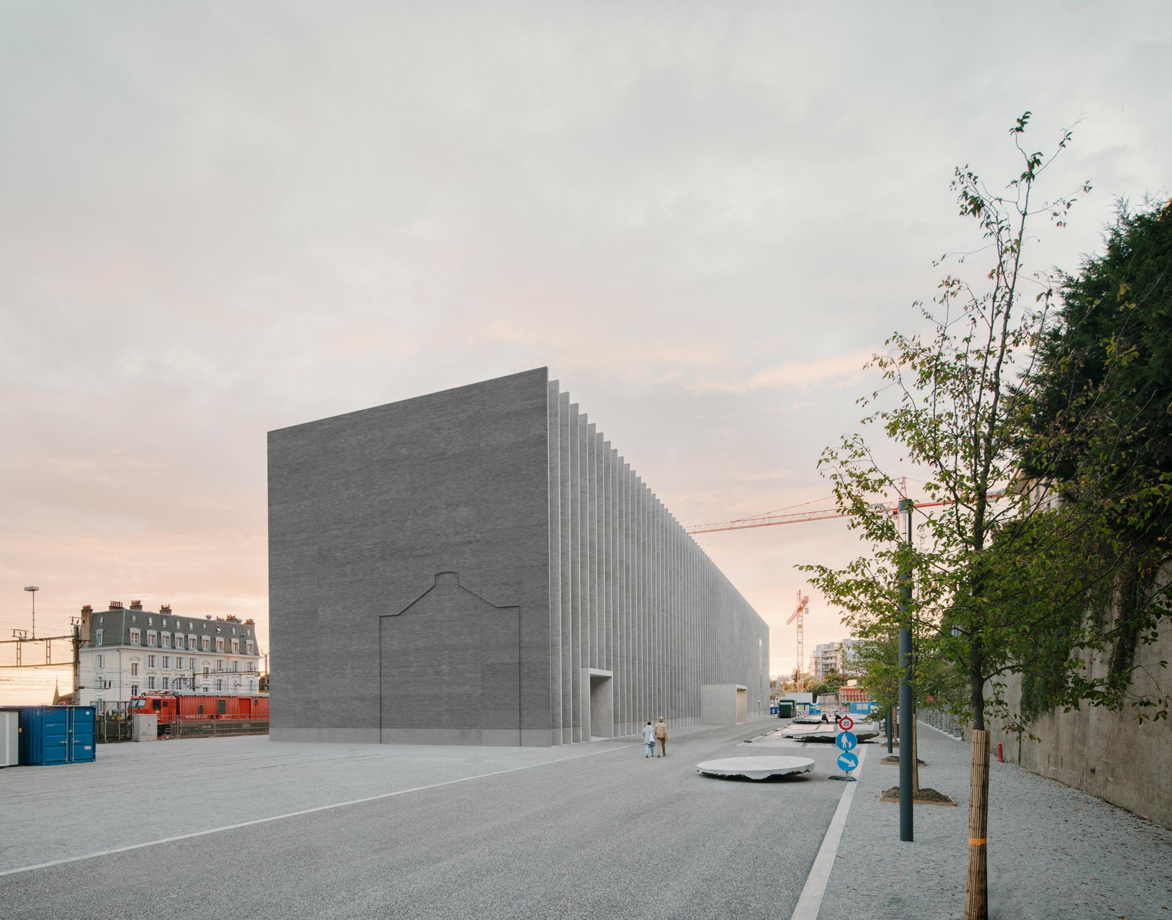 Musée cantonal des Beaux-Arts Lausanne by Barozzi Veiga