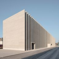 Barozzi Veiga designs Musée cantonal des Beaux-Arts Lausanne with ridged brick facade