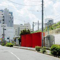 Nao Tamura bases triangular toilet block in Tokyo on Japanese craft of Origata
