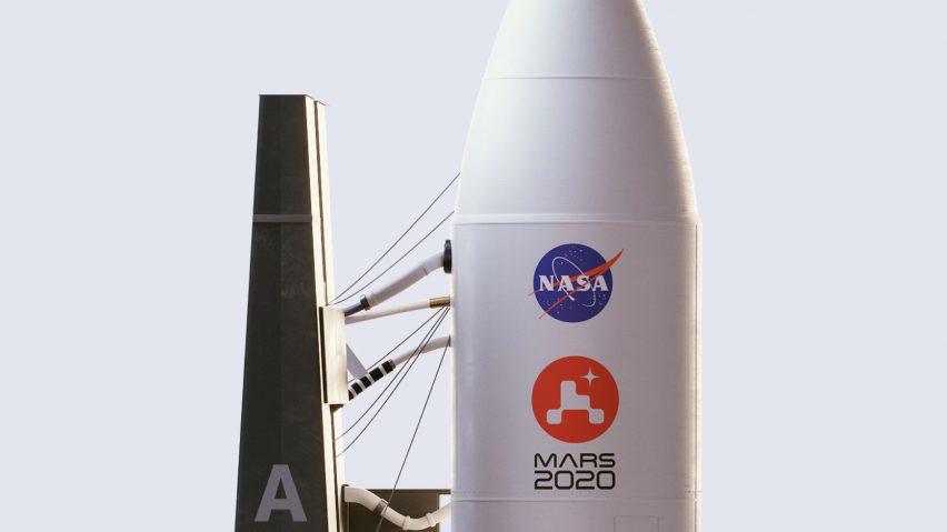 NASA mission logo by House of van Schneider