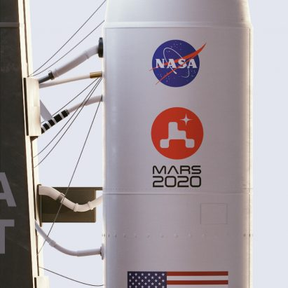 NASA mission logo by House of van Schneider