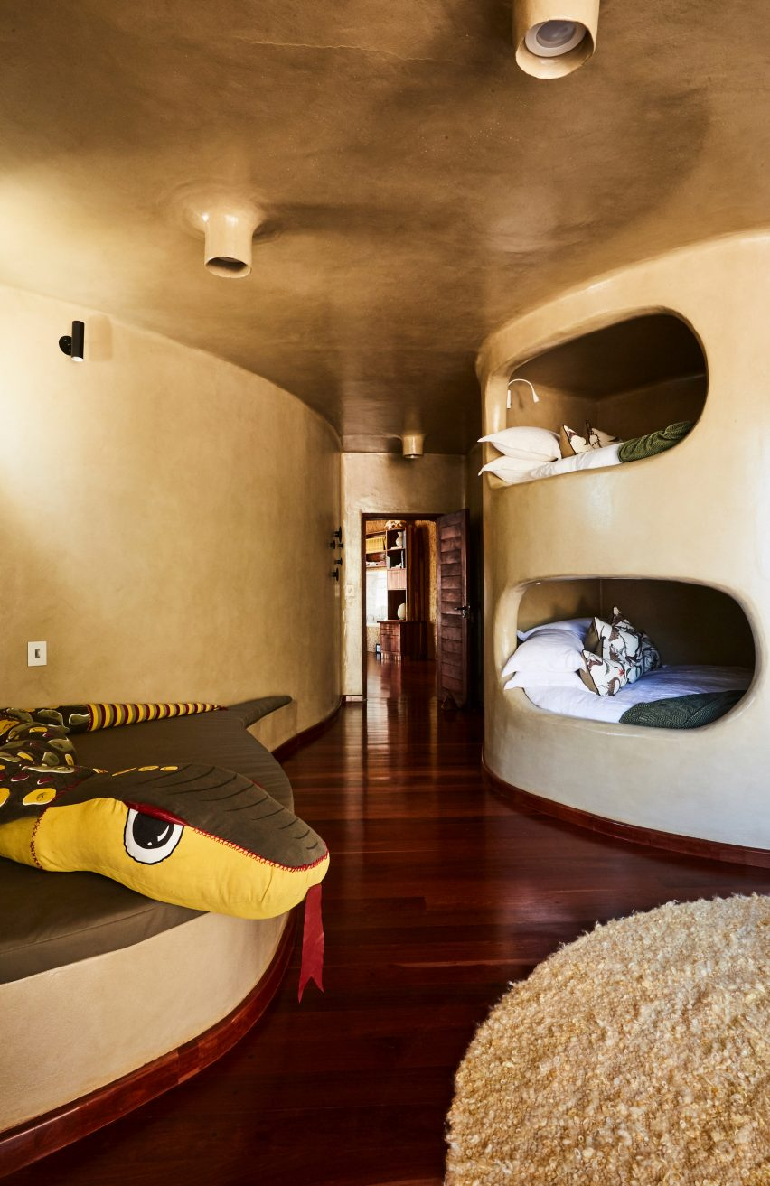 The Nest at Sossus guest house in Namibia designed by Porky Hefer