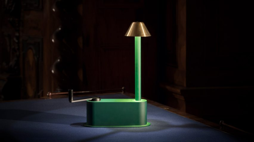 Klemens Schillinger creates Off-Grid Lamp for remote Austrian castle