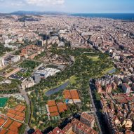 ON-A proposes covering Barcelona's Nou Camp stadium with Nou Parc