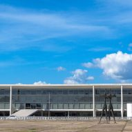Anti-drone antennas set to be built on top of Oscar Niemeyer palaces in Brasília