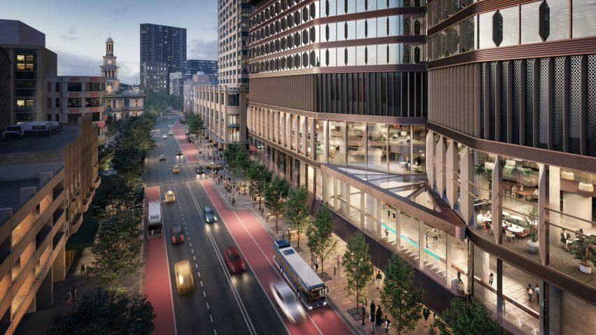 Pitt Street OSD by Foster + Partners